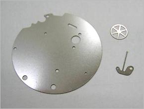 ウォッチ(機械式腕時計)用精密部品
