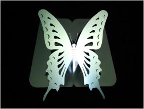 飛びたい蝶